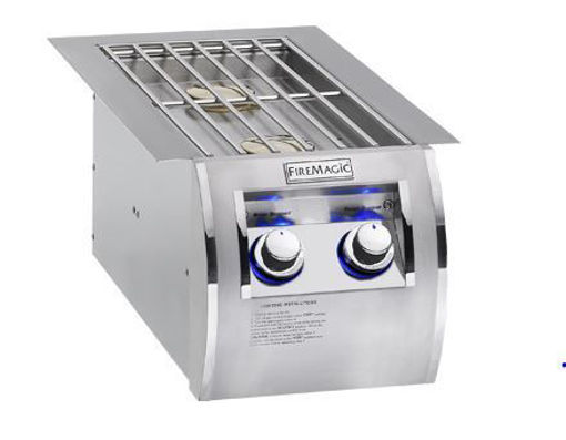 Picture of Fire Magic Echelon Diamond Built-in Double Side Burner