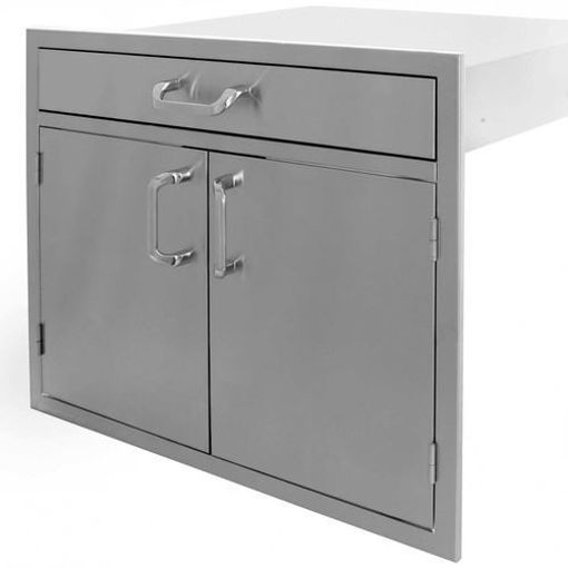 "Picture of PCM-260 30"" Double Door / 4"" Drawer"