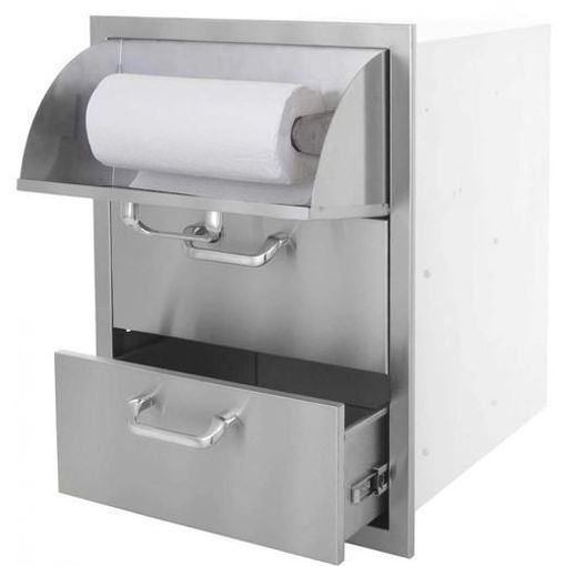 Picture of PCM-260 17x24 Triple Access Drawer with Paper Towel Dispenser