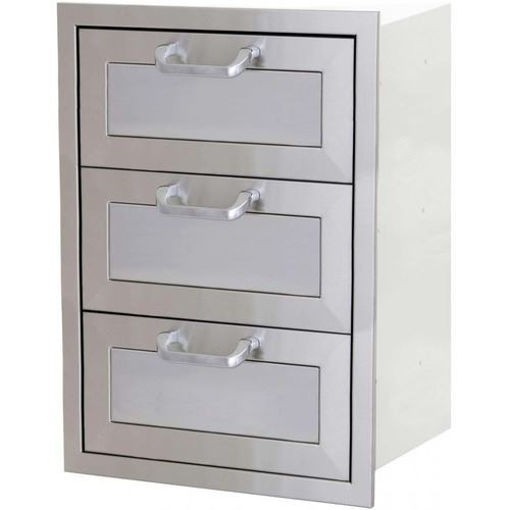 Picture of PCM-260R 17x24 Triple Access Drawer