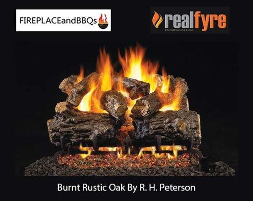 "Picture of 16"" Burnt Rustic Oak"