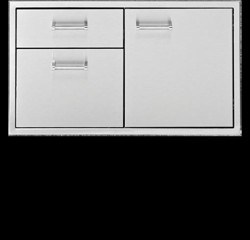 """Picture of 30"""" Delta Heat Door & 2-Drawer Combo"""