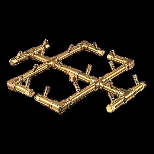 Picture of CFB180 Original CROSSFIRE Brass Burner + 3/4 Flex Line Kit + FIT180