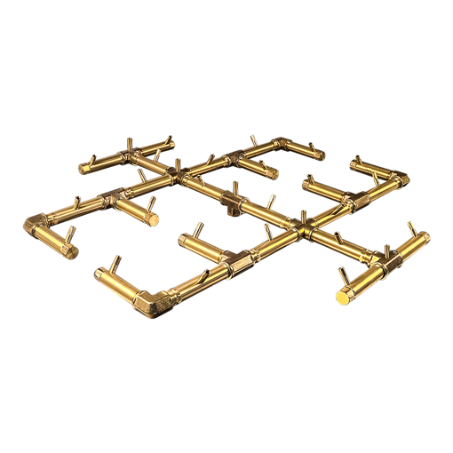 "Picture of CFB350 Original CROSSFIRE Brass Burner + 3/4"" Dual Flex Line Kit + FIT300"