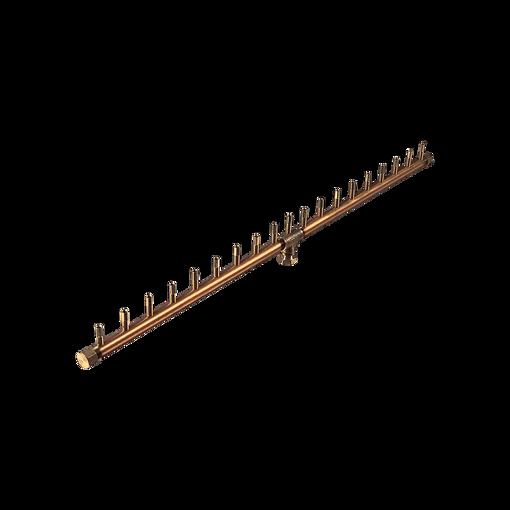 "Picture of CFBL190 Linear CROSSFIRE™ Brass Burner + 3/4"" Flex Line Kit + FIT180"