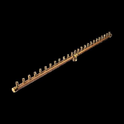 "Picture of CFBL250 50"" Linear CROSSFIRE™ Brass Burner + 3/4"" Dual Flex Line Kit + FIT250"
