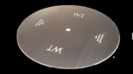 """Picture of 48"""" Circular 3/16"""" Aluminum Plate"""