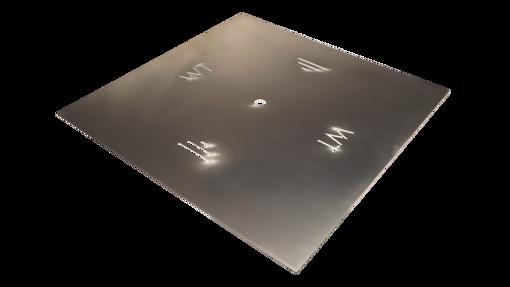 """Picture of 36"""" Square 1/8"""" Aluminum Plate"""