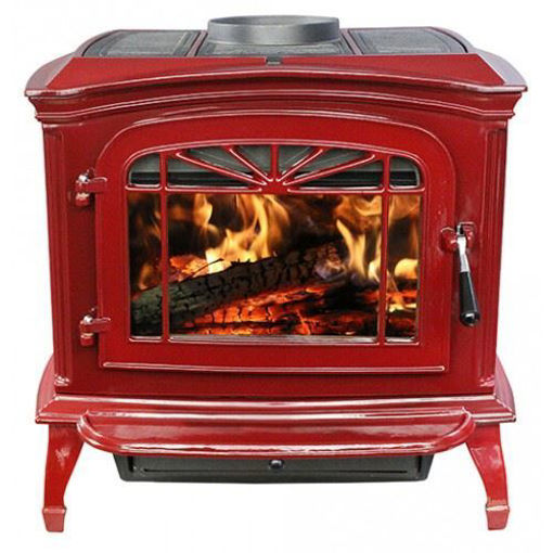 Picture of SWC21 Wood Stove (Red)