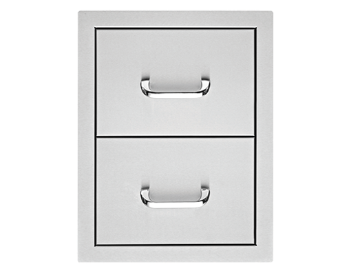 """Picture of 17"""" Delsol Double Storage Drawer"""