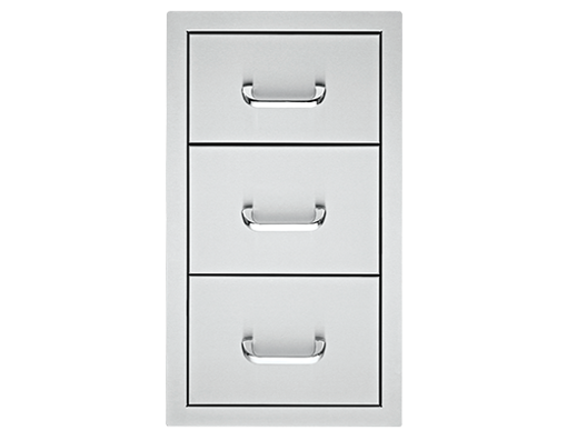 """Picture of 17"""" Delsol Triple Storage Drawer"""