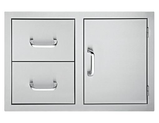 "Picture of 33"" Delsol Door 2-Drawer Combo"