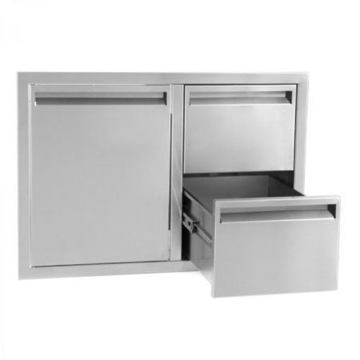 "Picture of PCM‐350 36"" SINGLE DOOR/ 2 DRAWERS"