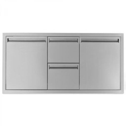 """Picture of PCM‐35042""""SINGLEDOOR/2DRAWERS/TRASHROLLOUT(TRIPLECOMBO)"""