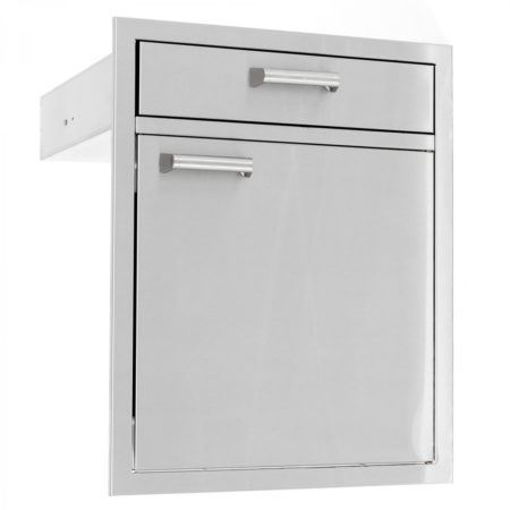 "Picture of PCM‐350H 21"" SINGLE DOOR/ 4"" DRAWER"