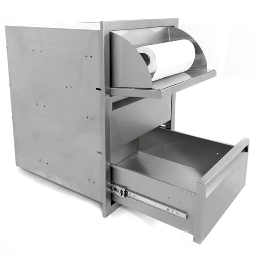 Picture of PCM-350 17X24 TRIPLE ACCESS DRAWER WITH PAPER TOWEL DISPENSER