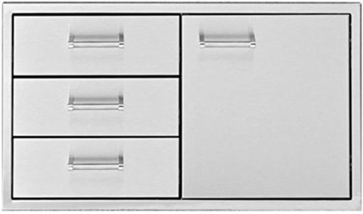 "Picture of 30"" Delta Heat Door & 3-Drawer Combo"