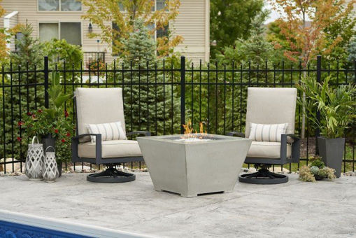 Picture of Cove Square Gas Fire Pit Bowl by The Outdoor Greatroom Company