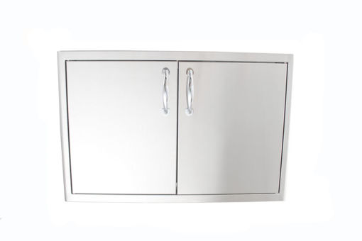 Picture of Blaze Stainless Steel Enclosed Dry Storage Cabinet with Shelf