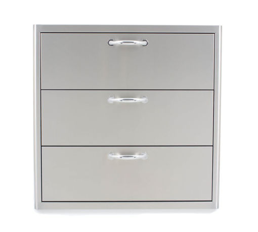 Picture of Blaze 30 Inch Triple Access Drawer