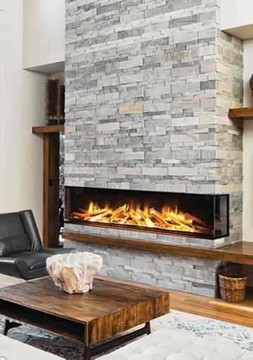Picture of European Home E72 3-Sided / Corner Linear Electric Fireplace