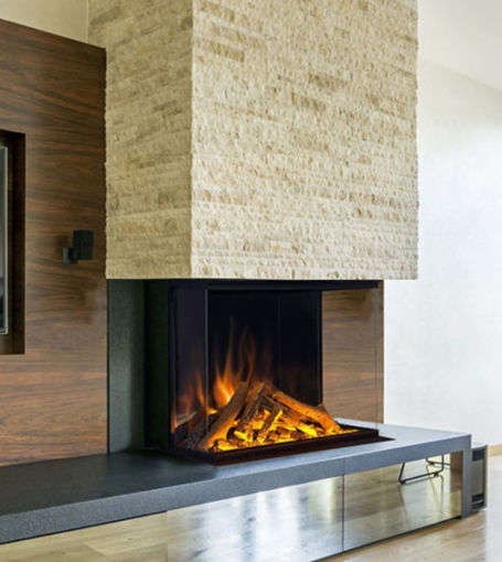Picture of European Home E32 H 3-Sided / Corner Electric Fireplace