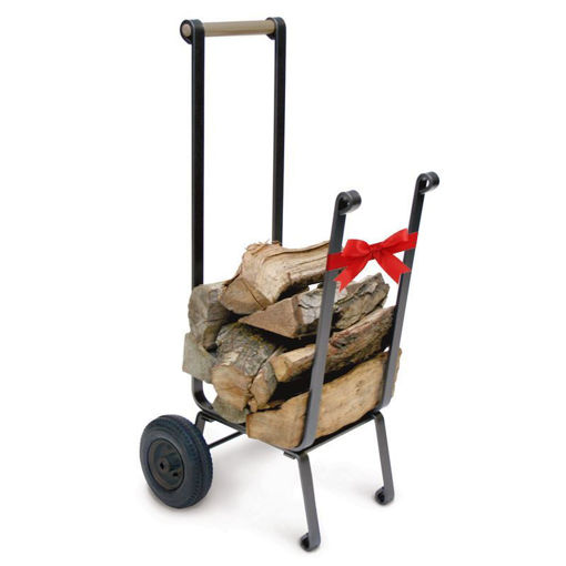 Picture of Big Wheel Firewood Cart
