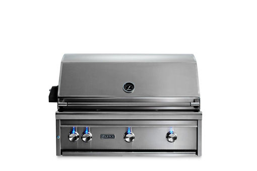 "Picture of 36"" PROFESSIONAL BUILT-IN GRILL WITH ALL TRIDENT INFRARED BURNERS AND ROTISSERIE (L36ATR)"
