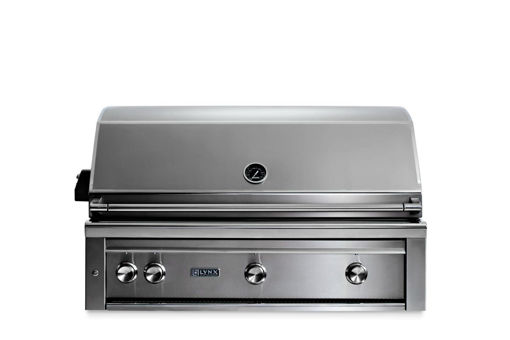 "Picture of 42"" PROFESSIONAL BUILT IN GRILL WITH 1 TRIDENT INFRARED BURNER AND 2 CERAMIC BURNERS AND ROTISSERIE (L42TR)"