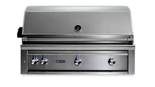 """Picture of 42"""" PROFESSIONAL BUILT-IN GRILL WITH ALL TRIDENT INFRARED BURNERS AND ROTISSERIE (L42ATR)"""
