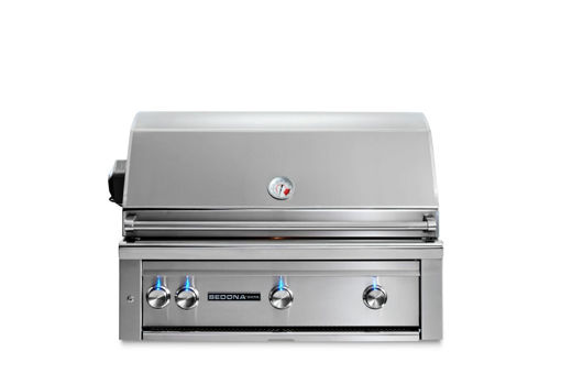 "Picture of 36"" SEDONA BUILT-IN GRILL WITH ROTISSERIE, 1 PROSEAR INFRARED BURNER AND 2 STAINLESS STEEL BURNERS (L600PSR)"