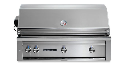 "Picture of 42"" SEDONA BUILT-IN GRILL WITH ROTISSERIE, 1 PROSEAR INFRARED BURNER AND 2 STAINLESS STEEL BURNERS (L700PSR)"