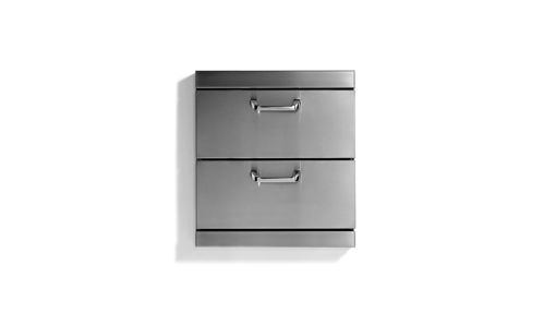 "Picture of CLASSIC 2 FULL EXTRA LARGE UTILITY DRAWERS WITH 5"" OFFSET HANDLESSET HANDLES (LUDXL-1)"