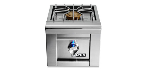 Picture of PROFESSIONAL SINGLE SIDE BURNER FOR BUILT-IN GRILLS (LSB1-3)