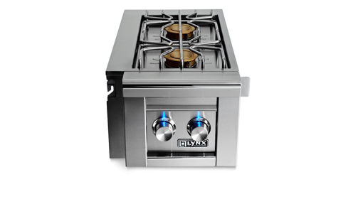 Picture of PROFESSIONAL CART MOUNTED DOUBLE SIDE BURNER (LCB2-3)