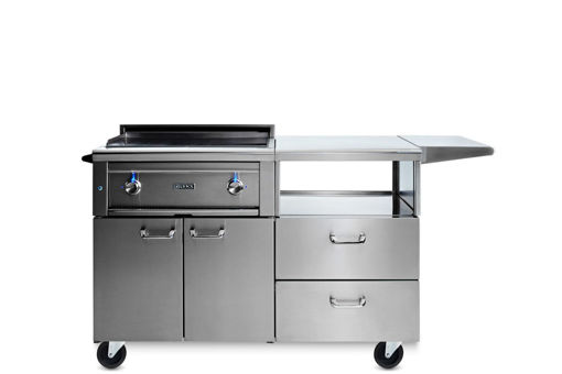 "Picture of 30"" ASADO COOKTOP ON MOBILE KITCHEN CART (L30AG-M)"