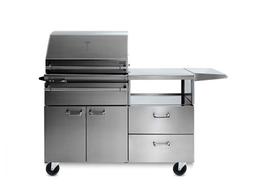 Picture of SONOMA SMART SMOKER ON A MOBILE KITCHEN CART (LSMKM)