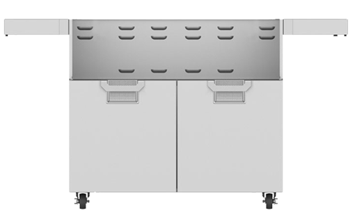 Picture of Aspire By Hestan Double Door Tower Cart For 42-Inch Gas Grills - ECD42