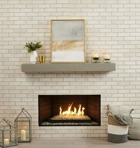 Picture of Crestline Modern Gas Hearth Set