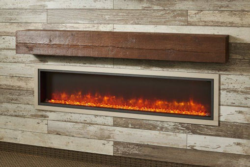 Picture of Non-Combustible Tavern Brown Supercast Wood Mantel