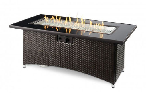 Picture of Balsam Montego Linear Gas Fire Pit Table