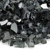 """Picture of 1/4"""" Black Reflective Fire Glass"""