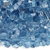 """Picture of 1/4"""" Pacific Blue Fire Glass"""