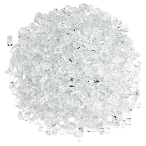 "Picture of 1/4"" Star-Fire Fire Glass"