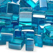 "Picture of 1/2"" Azuria Blue Luster Fire Glass 2.0"