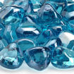 Picture of Powder Blue Luster Zircon Fire Glass