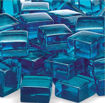 """Picture of 1/2"""" Pacific Blue Luster Fire Glass 2.0"""