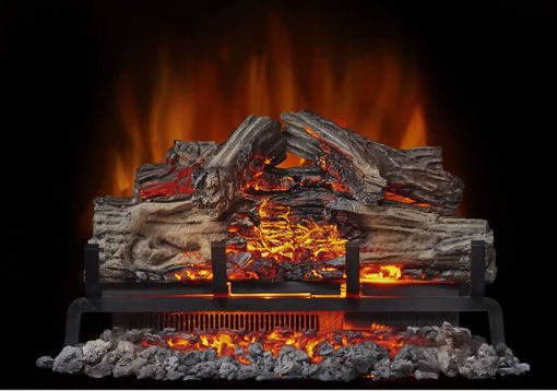 """Picture of Napolean Woodland™ Electric Log Set 18/24/27"""""""